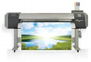 Example of a wide format printer