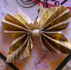 3-d paper butterfly