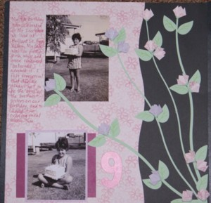 Scrapbooking example