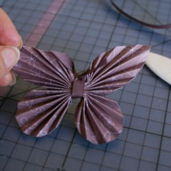Easy paper butterfly