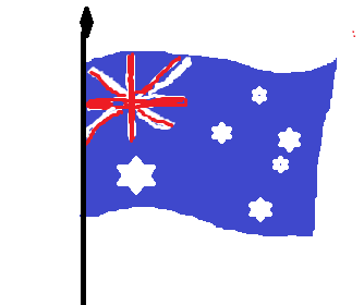 Australian Flag graphic