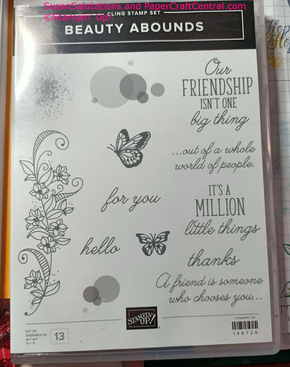 Beauty Abounds Stamp Set