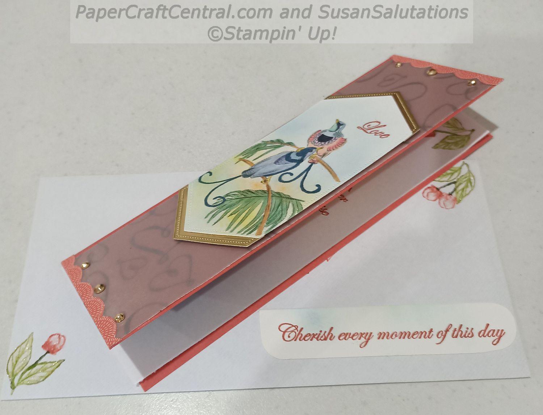 Slim Line Wedding Card