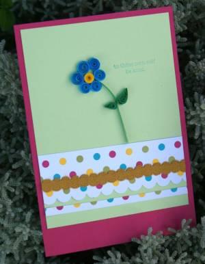 Easy to Make Paper Quilling Greeting Cards