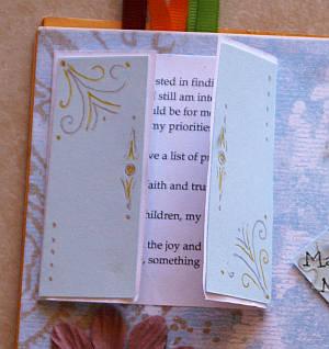 circle journal, round robin, scrapbook, album, swap