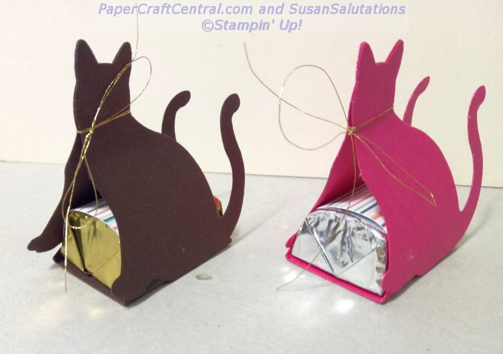Cat Punch Chocolate Favors