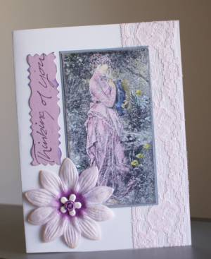 chalk pastels, card making, rubber stamping