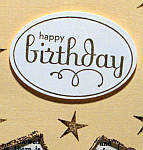 Birthday card sentiment