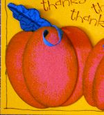 Thanksgiving pumpkins card