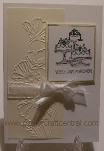 wedding greeting cards2, handmade, papercraft, Big Shot