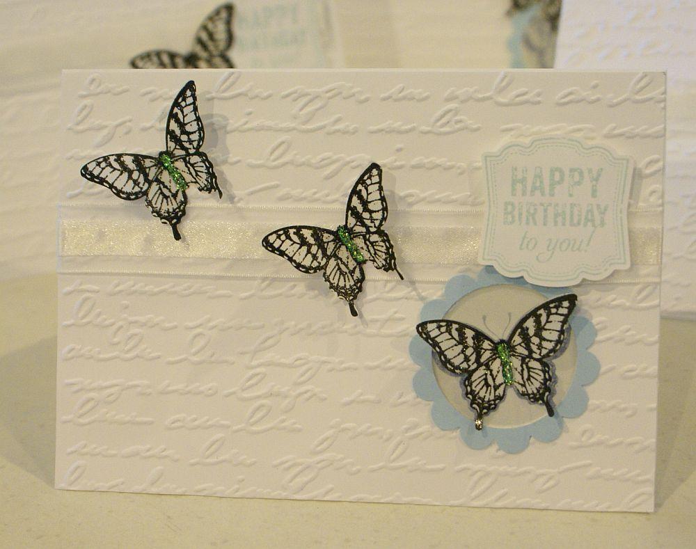 Vellum butterflies