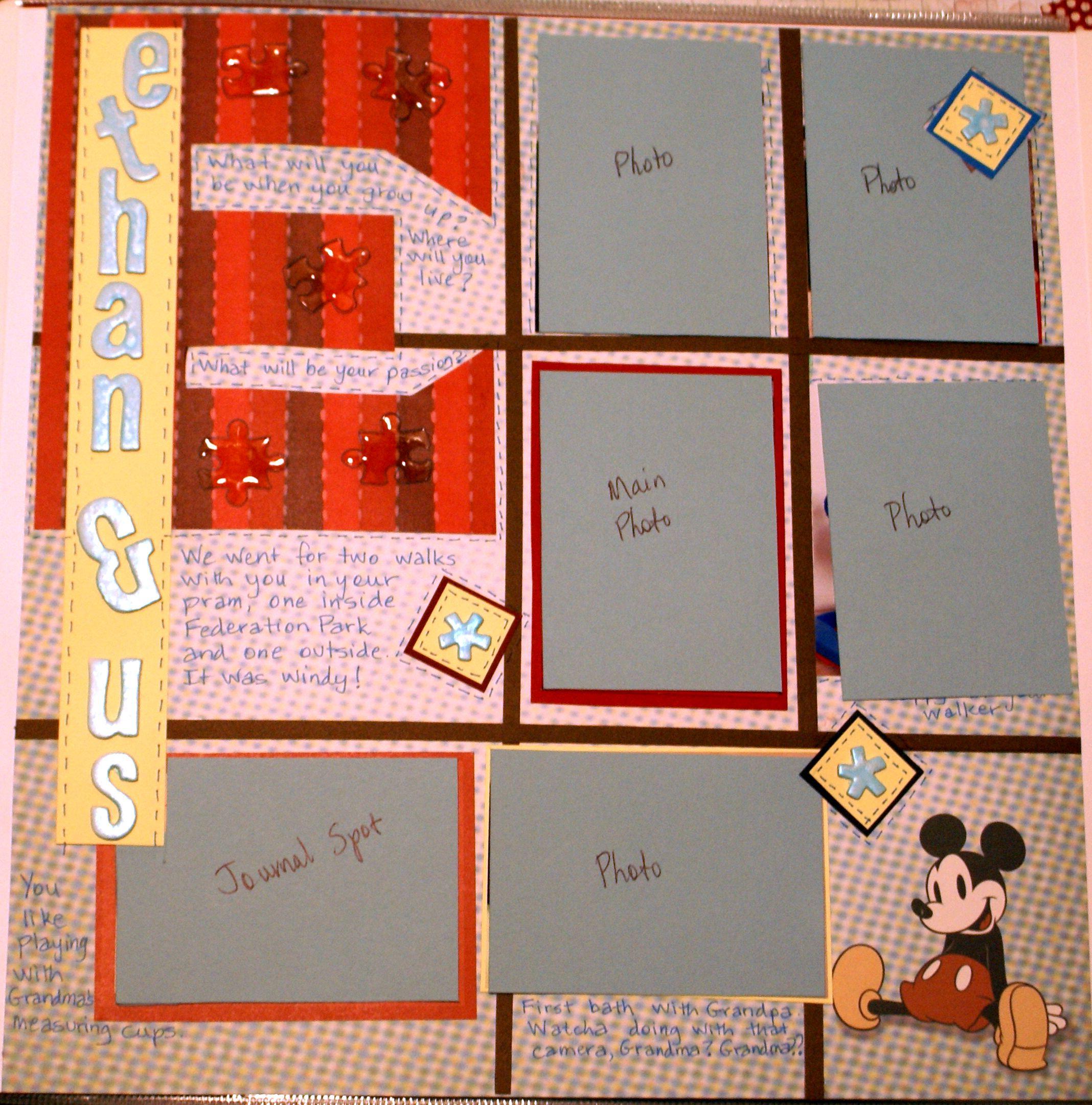 Scrapbook Ideas 1