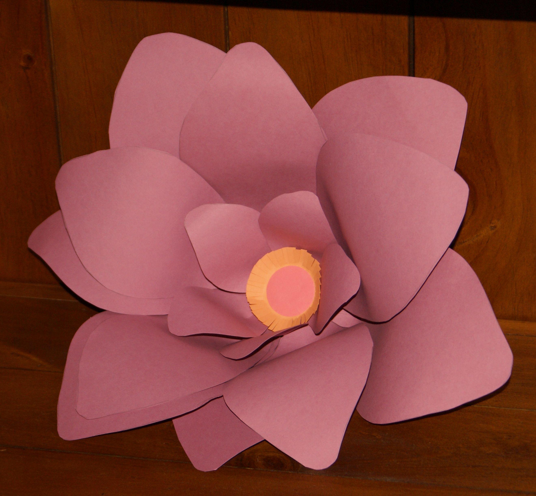 Giant Paper Flower