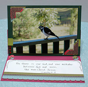 easel cards, folding easel, handmade greeting card,  papercraft,  photo cards