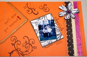scrapbook embellishments, scrapbooking ideas, layout, papercraft
