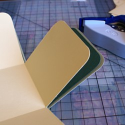 Corner rounded layers
