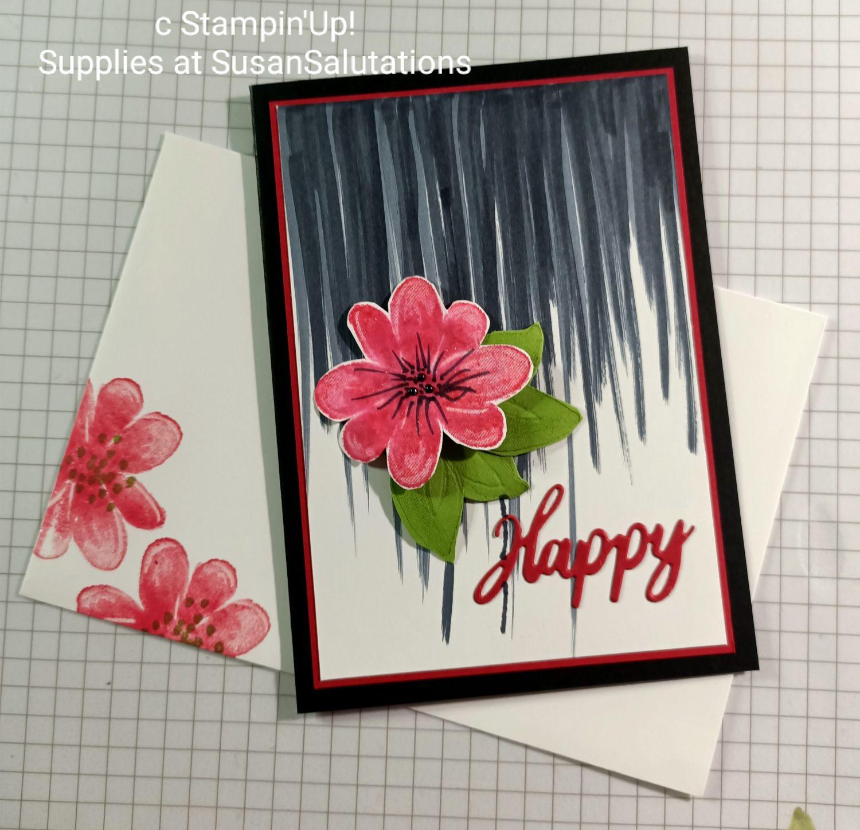 Gorgeous Posies Birthday Card