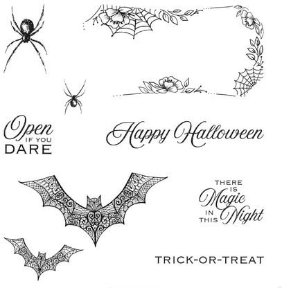 Hallows Night Magic Stamp Set