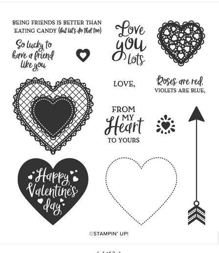 Heartfelt Stamp Set