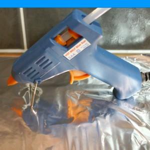 how to use hot glue gun in hindi