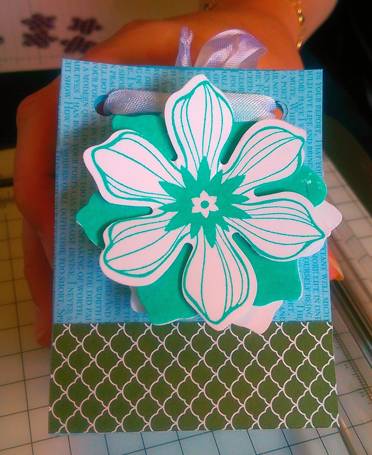 Gift Bag Punch Board Project