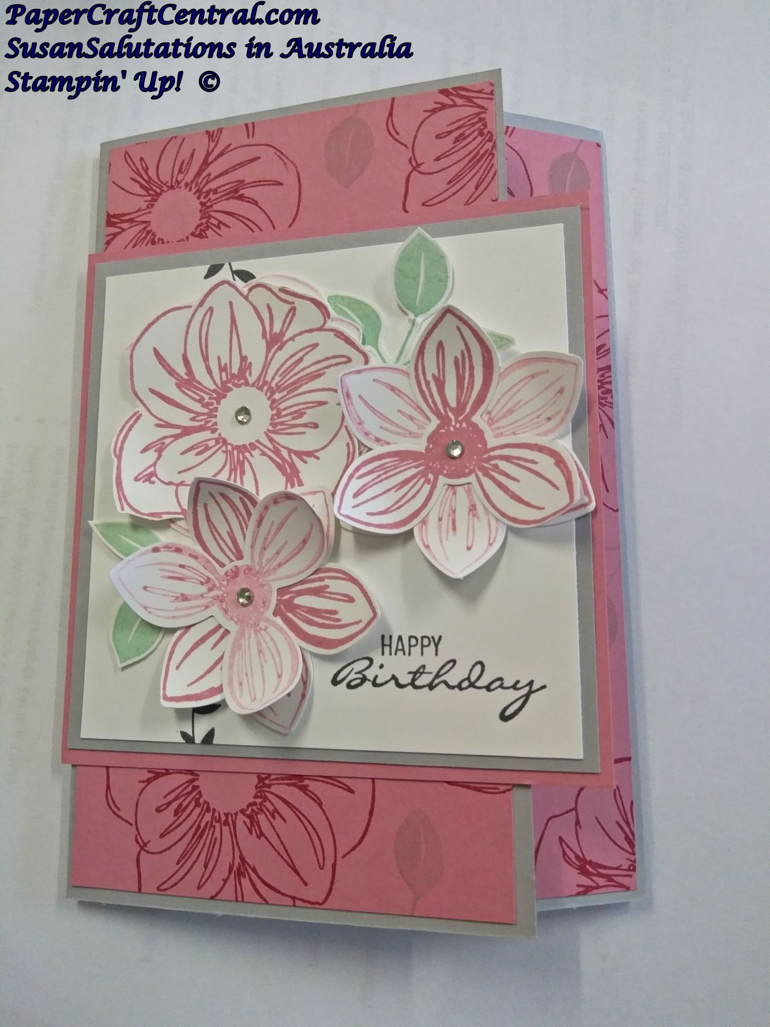 Floral Essence Card Idea