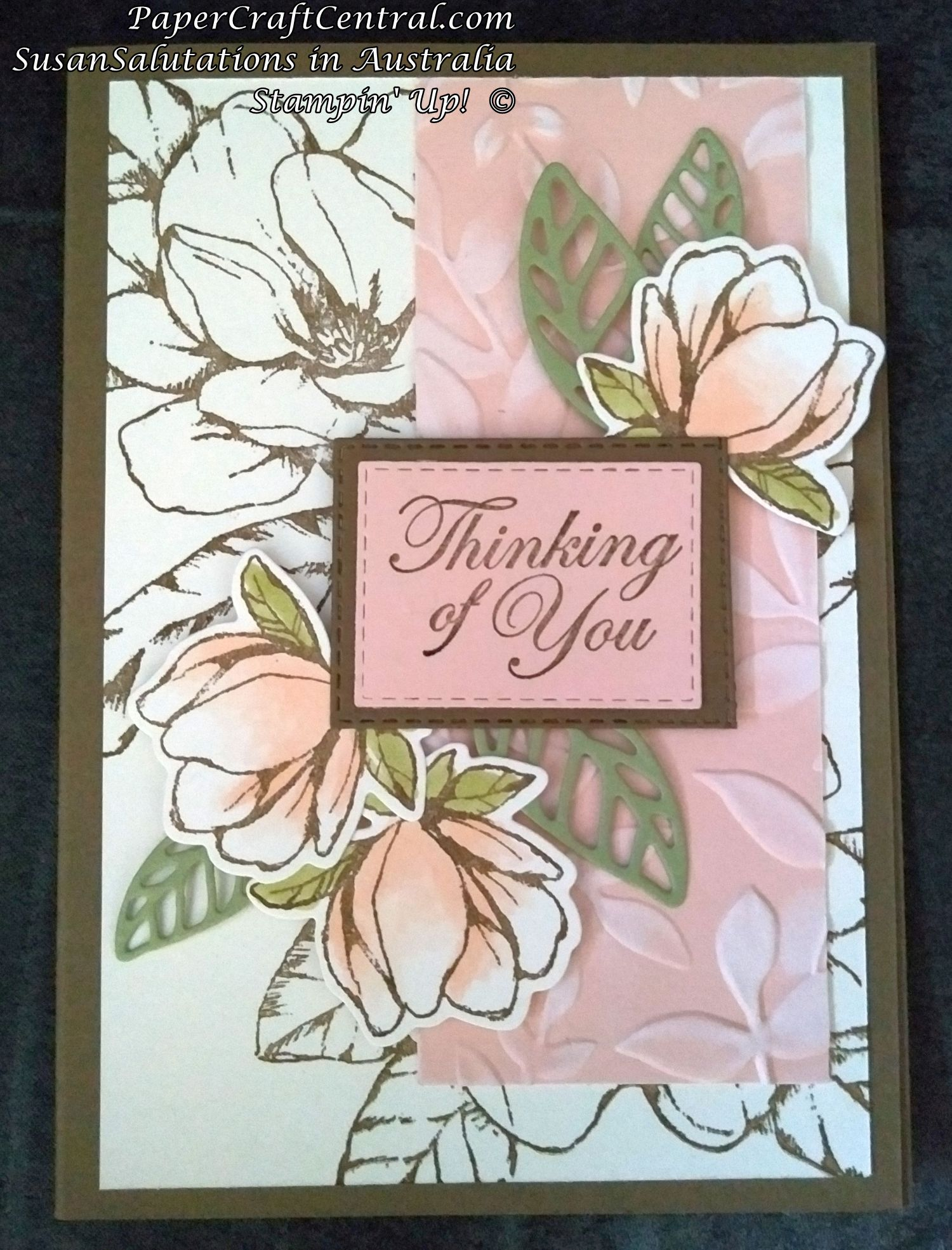Good Morning Magnolia Card Ideas