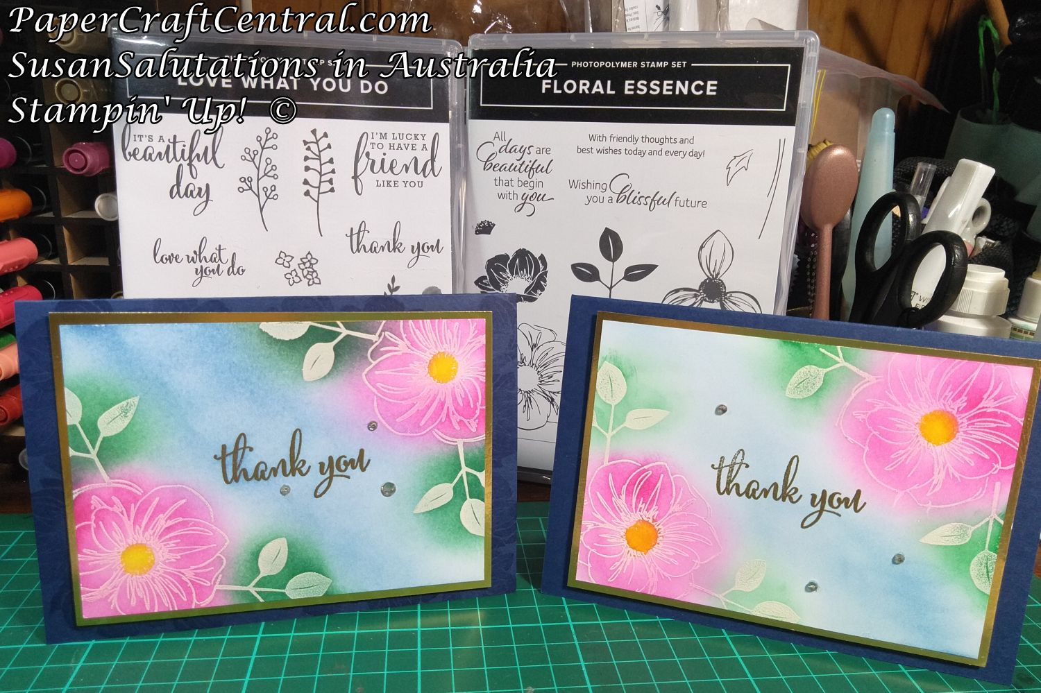 Floral Essence Embossed Card