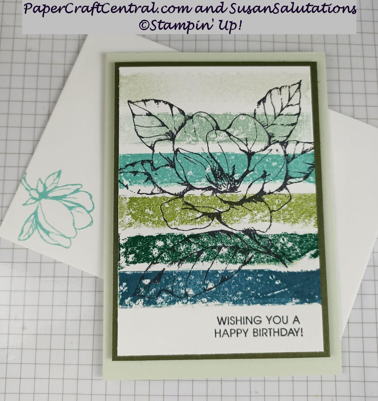Good Morning Magnolia Washi Tape Card