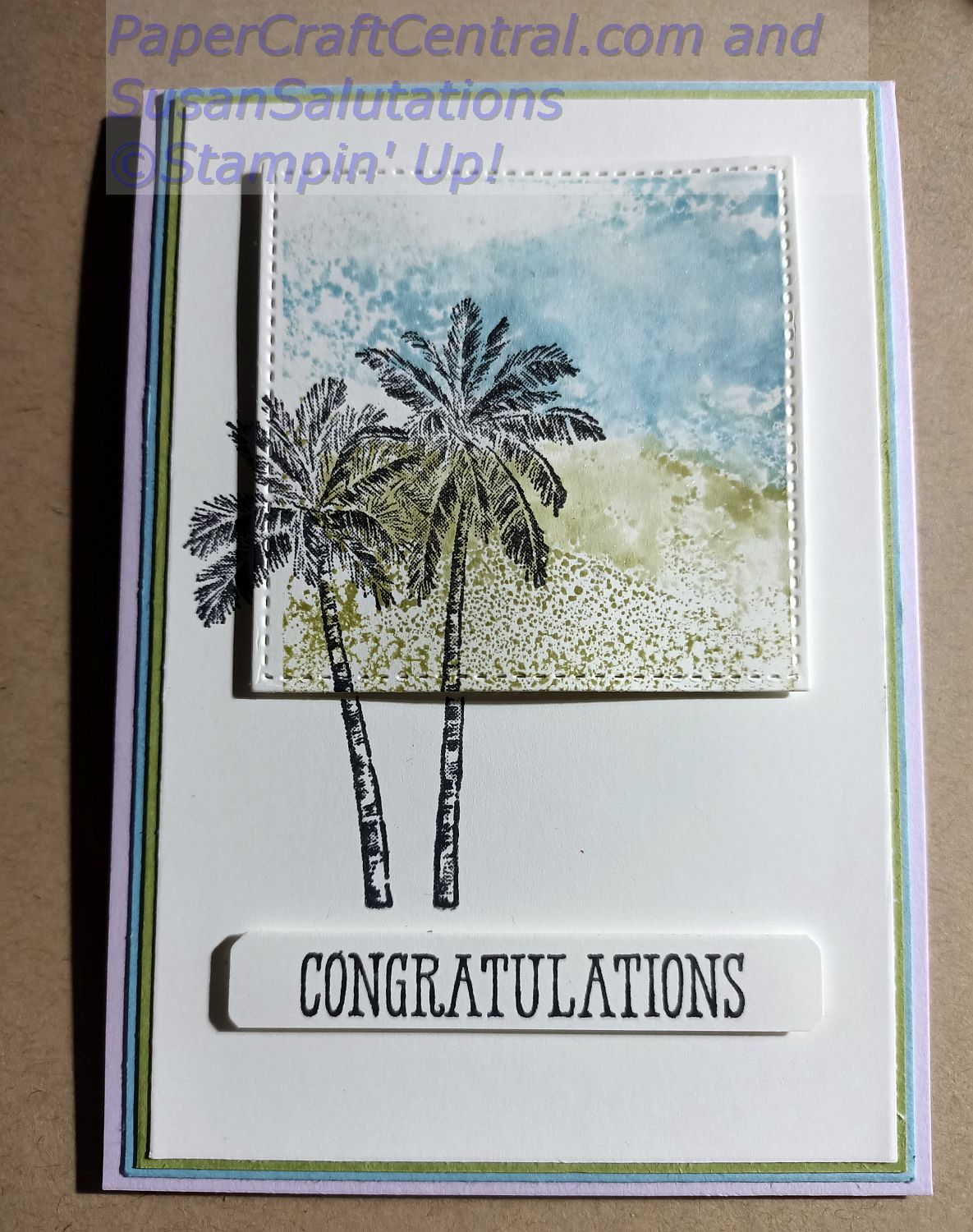 Timeless Tropical stamp set