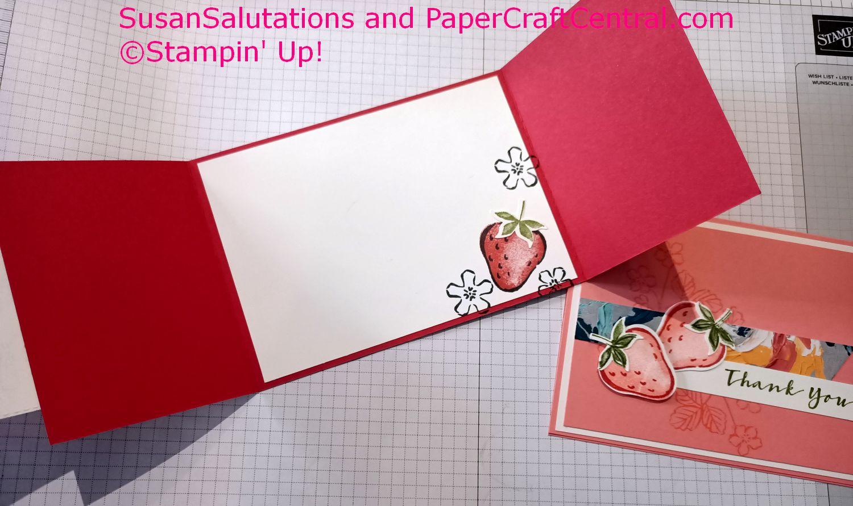 Sweet Strawberry stamp set