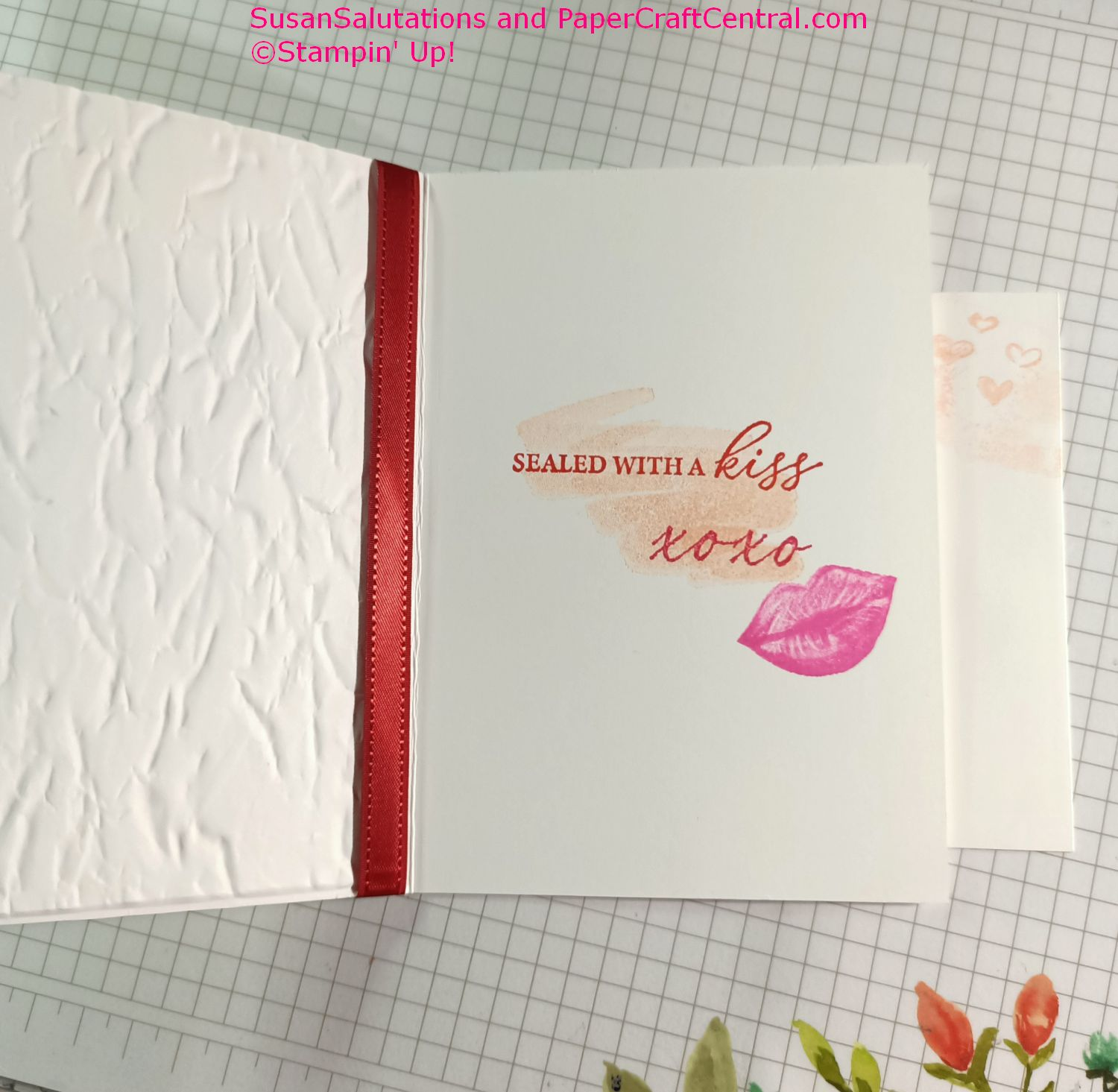 Hearts ad Kisses stamp set