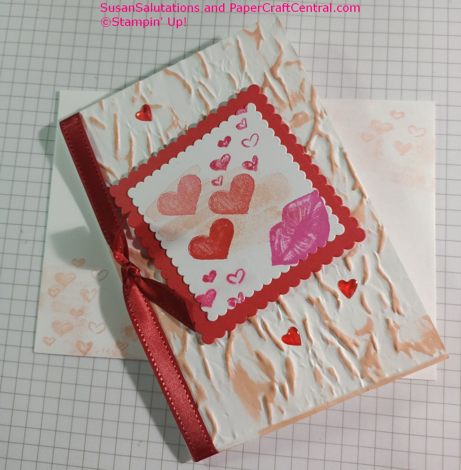 Hearts and Kisses stamp set