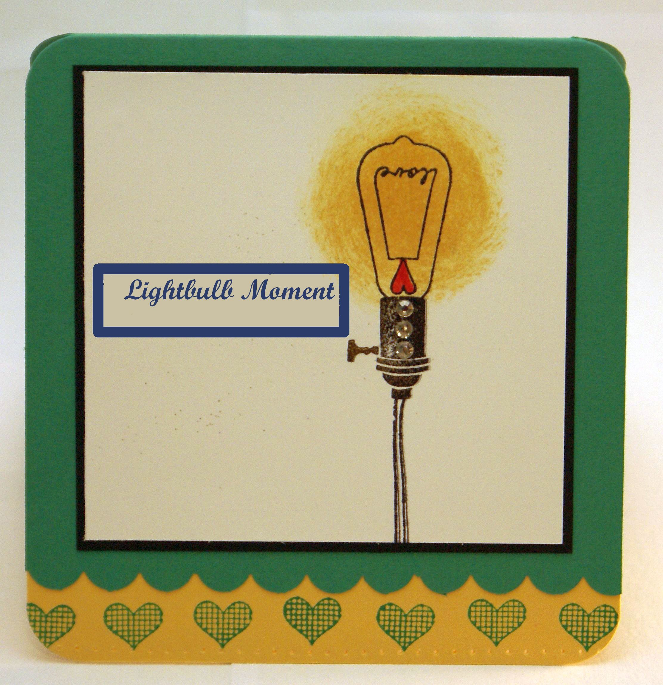 Lightbulb Moment card