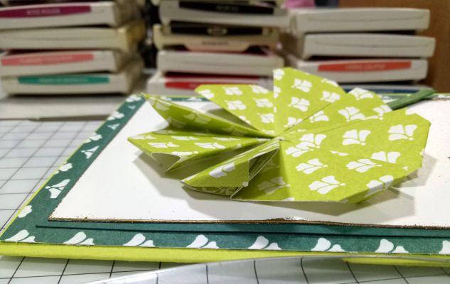 Origami project in progress
