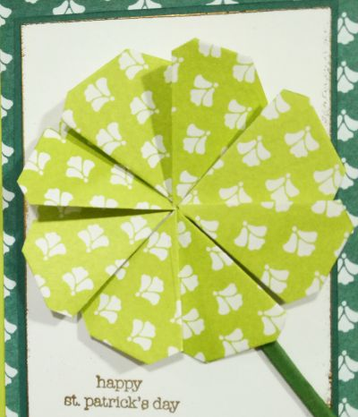 St Patricks Day Origami