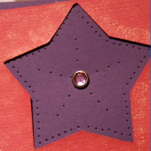 Paper Piercing, card making, hole reamer