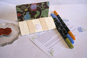 Paper wallet craft supplies