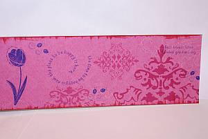 Stamping the designer series paper
