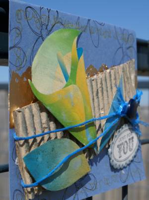 recyclable products, card making, handmade greeting cards