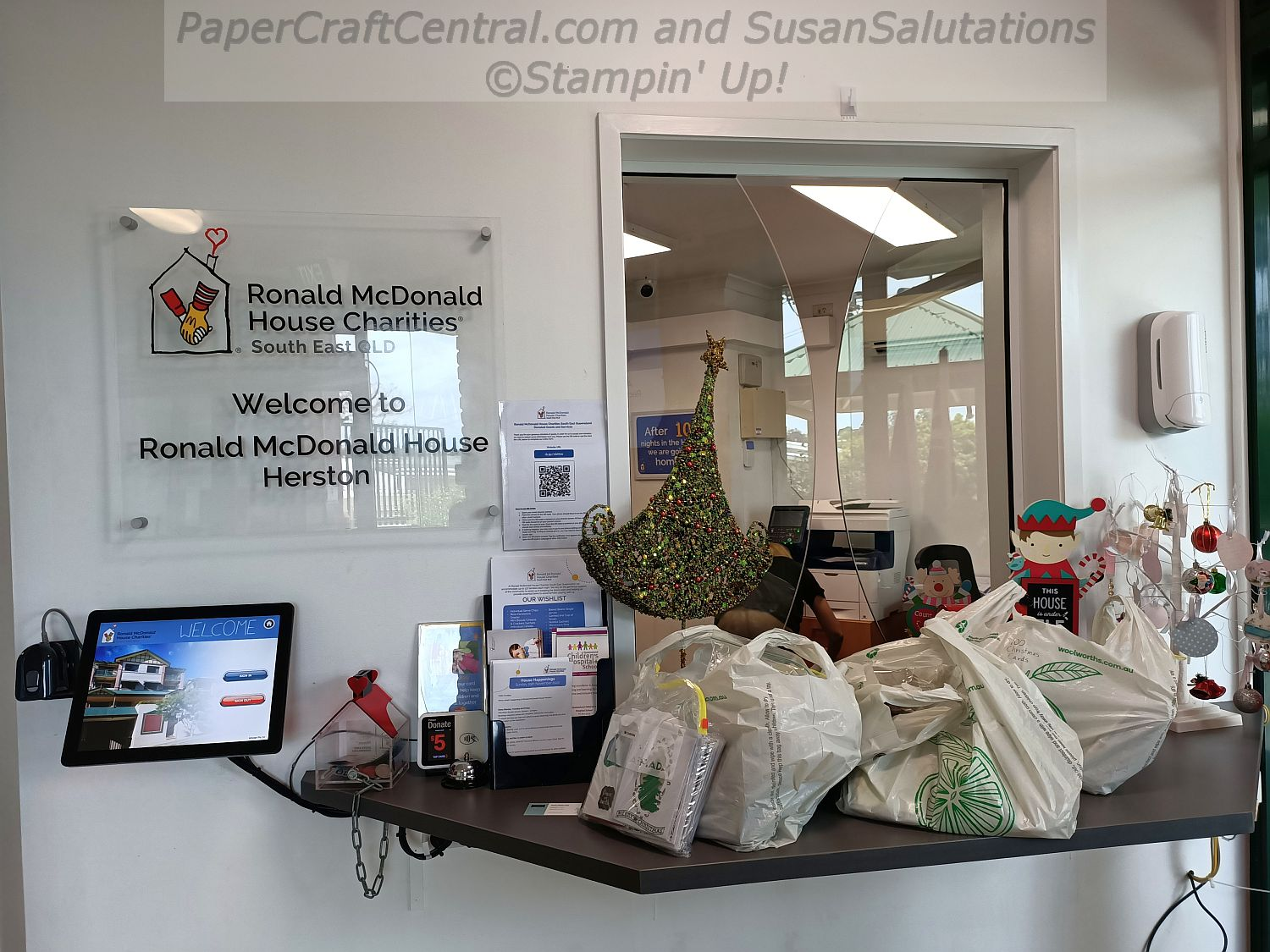 Ronald McDonald House Card Donation