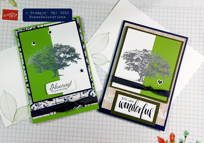 Split Negative Card Technique