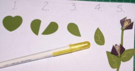 Paper roses, paper flowers, scrapbook, papercraft