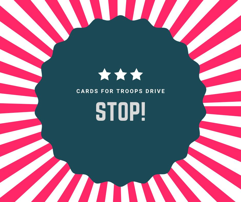 Stop Cards for Troops