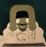 paper scallop purse