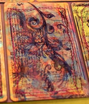 sewn atcs, ATC, Artist Trading Cards, swaps, papercraft