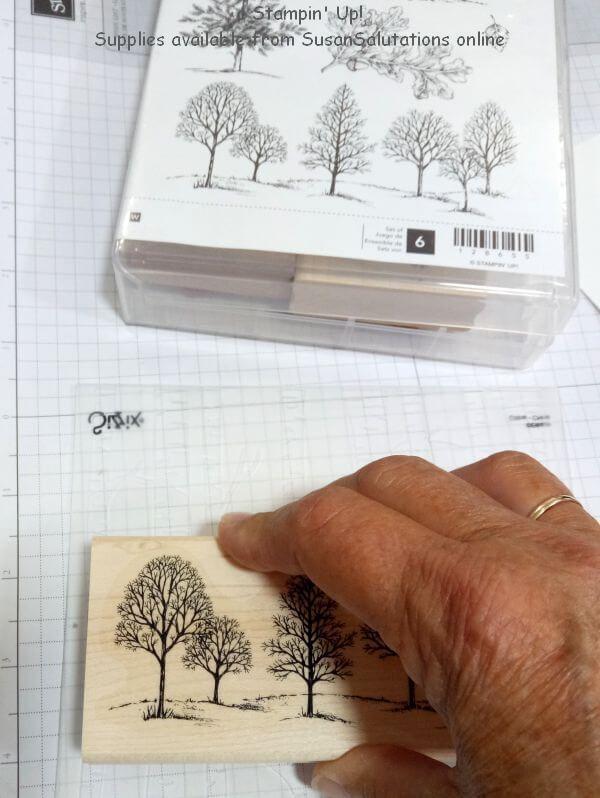 Stamping on embossing folder