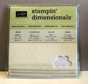 Stampin' Dimensionals