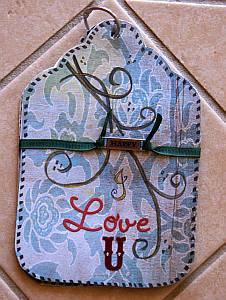 romantic ideas, chipboard, scrapbook, papercraft