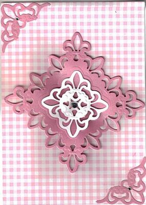 Fleur de Lis Birthday Card